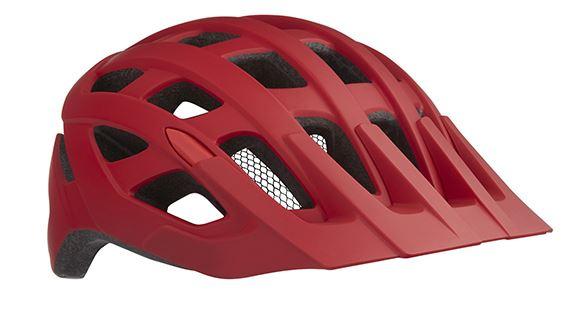 Lazer fietshelm Roller unisex rood maat 55 59 cm