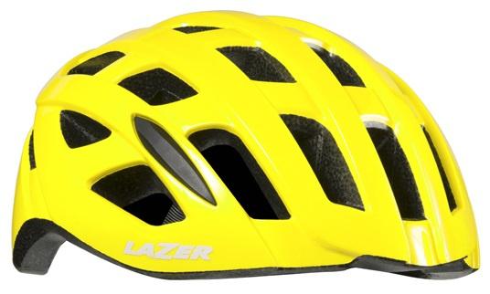 Lazer fietshelm Tonic 52 56 cm EPS schuim geel mt S
