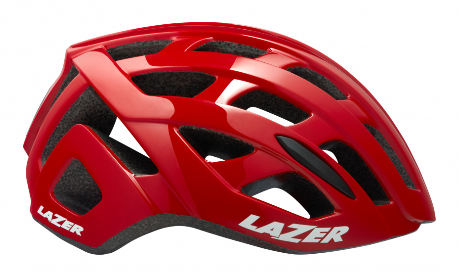 Lazer fietshelm Tonic 58 61 cm EPS schuim rood mt L