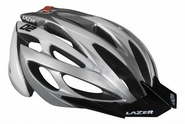 Lazer Helm 02 XC Wit Grijs
