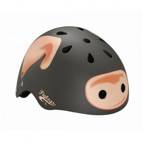 Lazer Helm One Pig Toy Mat Grijs Maat XS S