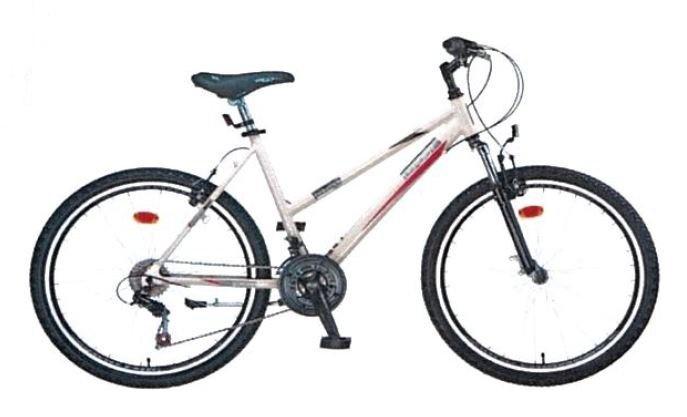 Leader Evolution 26 Inch Woman 21SP Rim Brakes Cream - Internet-Bikes