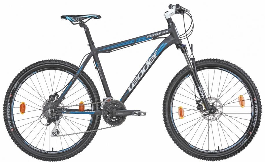 Leader Fenix 26 Inch 56 cm Heren 24V Schijfrem Zwart/Blauw