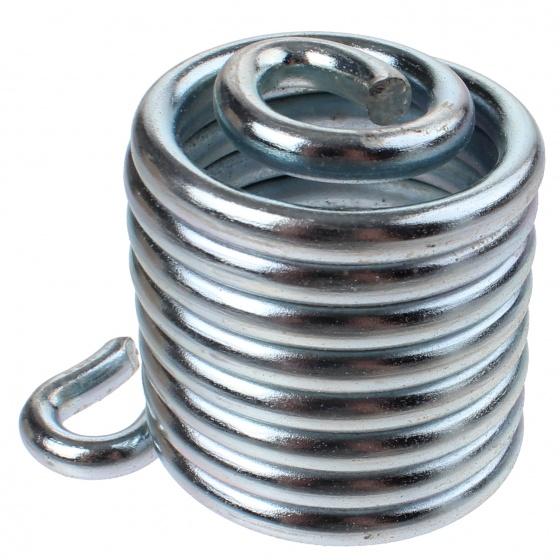 Lepper zadelveer Primus 214/215 rechts staal zilver