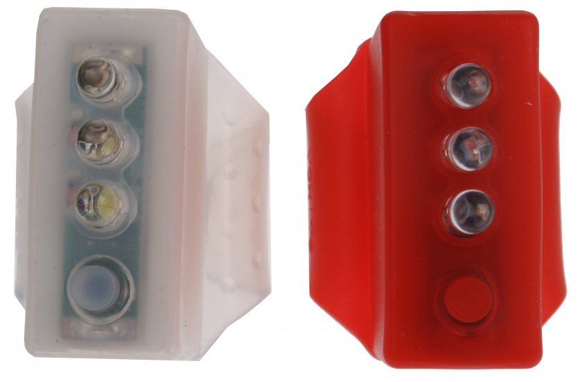 Lifetime Verlichting set Alaska 3 LED rood/wit