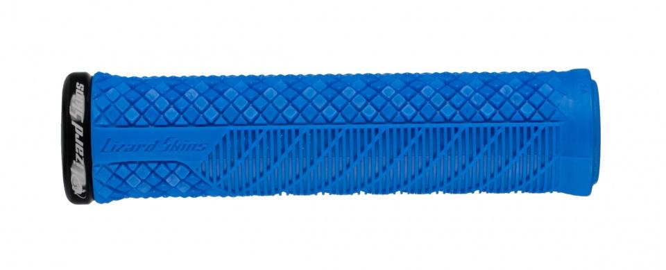 Lizard Skins handvatten Charger Evo Lock On 136 mm blauw 2 stuks
