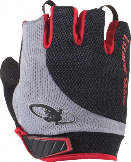 Lizard Skins fietshandschoenen Aramus Elite zwart/rood maat 12