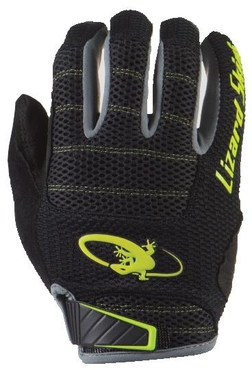 Lizard Skins fietshandschoenen Monitor AM zwart/geel mt 10