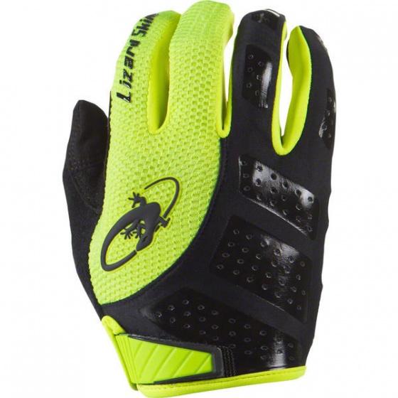 Lizard Skins fietshandschoenen Monitor SL geel/zwart maat 9