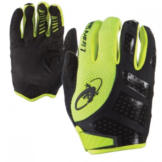 Lizard Skins fietshandschoenen Monitor SL geel/zwart maat 11