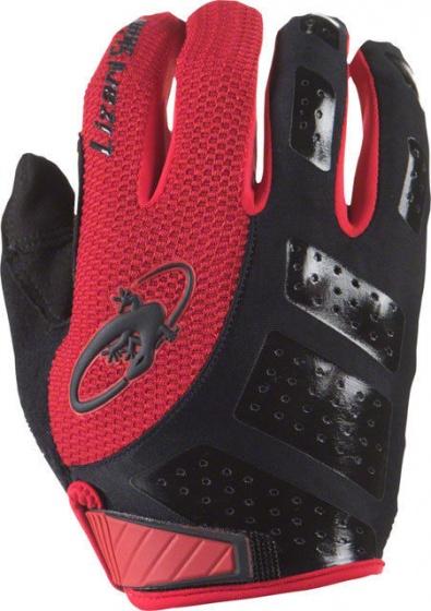 Lizard Skins fietshandschoenen Monitor SL zwart/rood maat 7