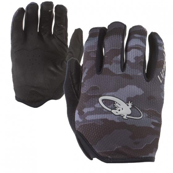 Lizard Skins fietshandschoenen Monitor zwart/grijs maat 8