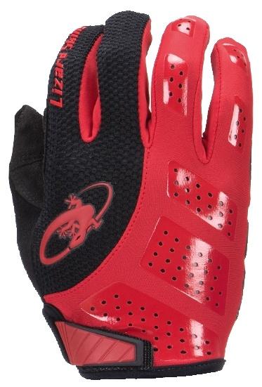 Lizard Skins fietshandschoenen Monitor SL Gel zwart/rood mt 10