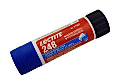 Korting Loctite Borgmiddel Draad 248 Blauw 9 Gram