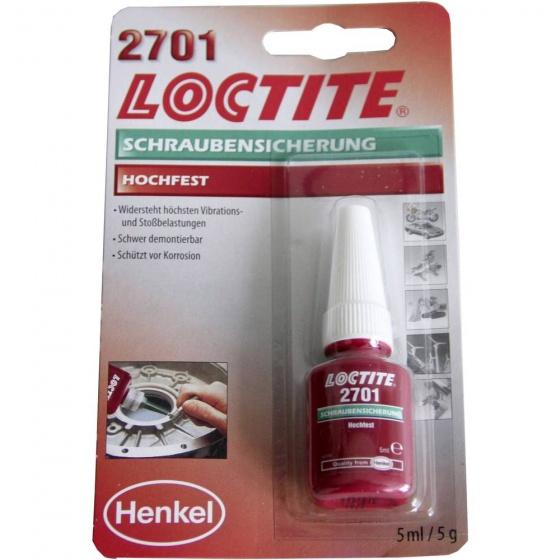 Loctite draadborging 2701 5 ml