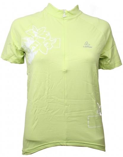 Loffler Fietsshirt Sharp dames groen maat S