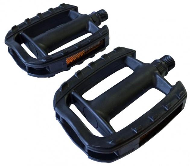 Lynx platformpedalen ATB 9/16 inch zwart per set