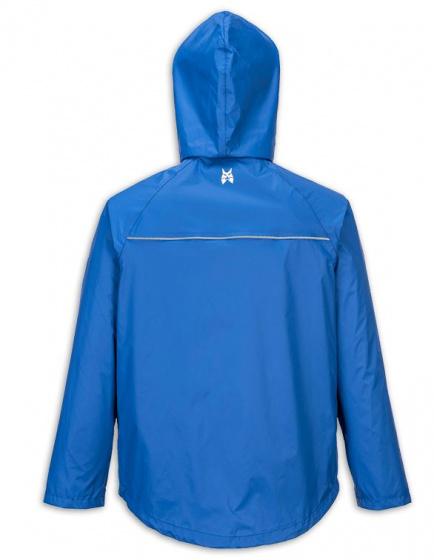 Lynx Regenjas Dry & Go heren nylon blauw maat L