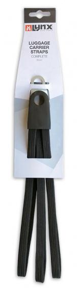 Lynx snelbinders Basic 26 28 inch elastaan zwart
