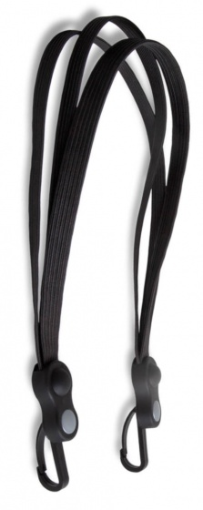 Lynx Triobinder met karabijnhaak 26/28 inch 60 cm zwart