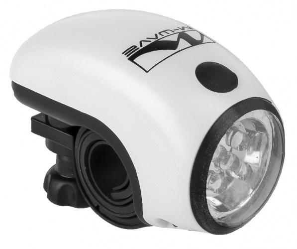M Wave Apollon 5.2 INT Fietslamp Voor Wit