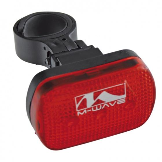 M-Wave Battery Light Set Atlas 22 Black
