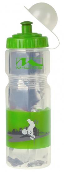 M Wave Bidon Thermo PBO 400 ISO Groen / Transparant