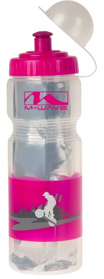 M Wave Bidon Thermo PBO 400 ISO Roze / Transparant