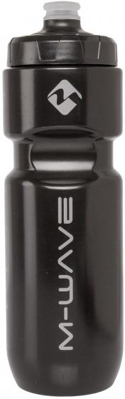 M Wave bidon zwart 750 ml