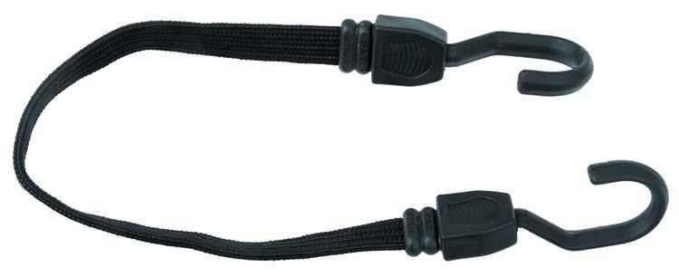 M Wave Elastische Snelbinders 600 X 19 mm Zwart