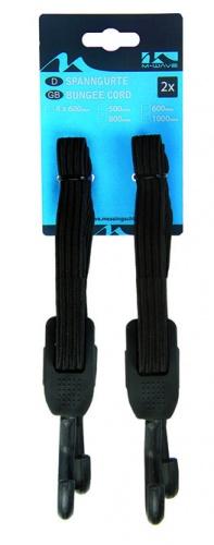 M Wave Elastische Snelbinders Verstelbaar 0 1000x17 mm Zwart