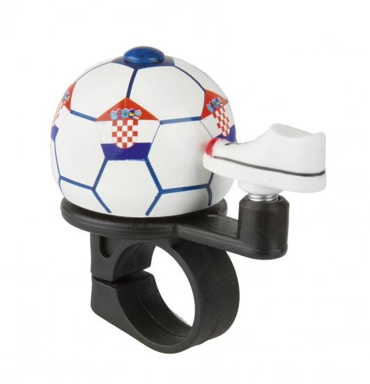 M Wave Fietsbel Mini Voetbal Kroatie