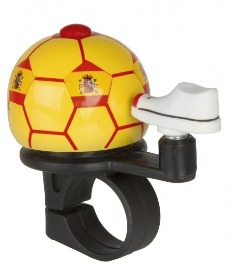 M Wave Fietsbel Mini Voetbal Spanje