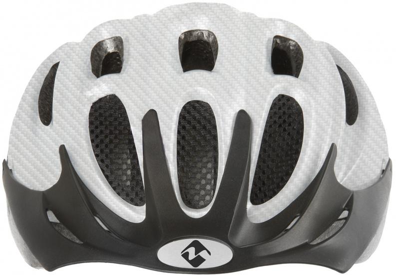 M Wave fietshelm Ventura 58 61 cm wit/zwart maat L