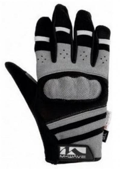 Korting M wave Gel Fietshandschoenen Protect Zwart grijs Maat 8