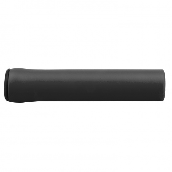 M Wave handvatten universeel 130 mm silicone 2 stuks zwart