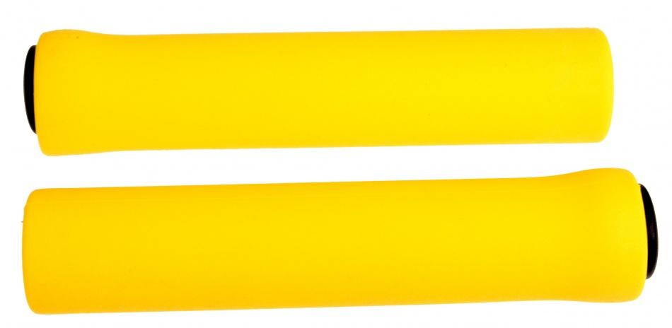 M Wave Handvatten universeel 130 mm silicone geel