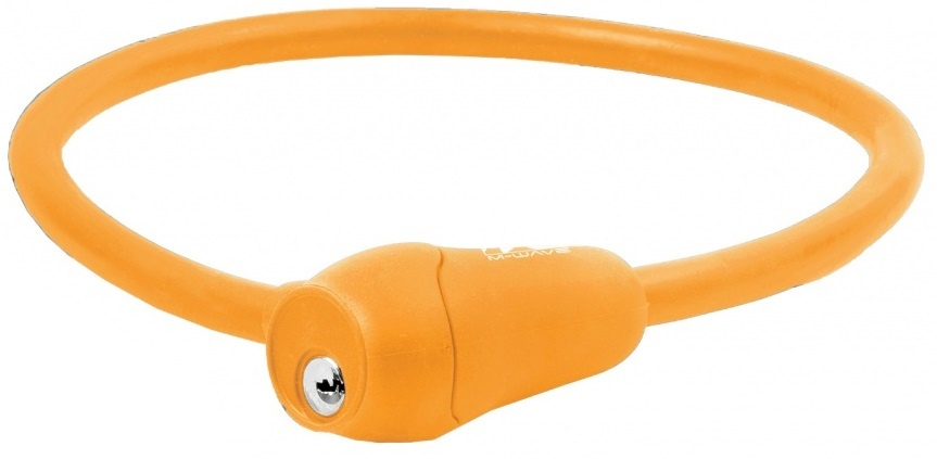 M Wave Kabelslot S12.6 S spiraal 600 x 12 mm oranje