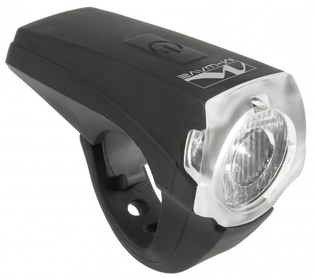 M Wave LED Voorlicht 25 Lux Met USB Oplader