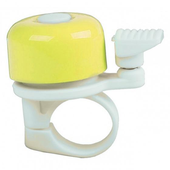 M Wave fietsbel mini 34 mm geel Onderdelen & Accessoires Geel Fietsbellen Mini Voor 16:00 uur besteld, dezelfde dag verzonden