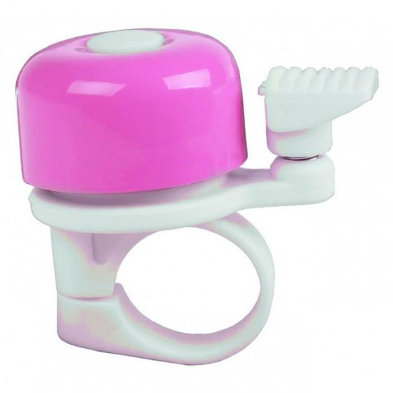 M Wave fietsbel mini 34 mm roze Onderdelen & Accessoires Roze Fietsbellen Mini Voor 16:00 uur besteld, dezelfde dag verzonden