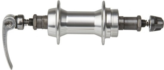 Korting M wave Naaf Achter Aluminium 36 Gaats Zilver Quick Release