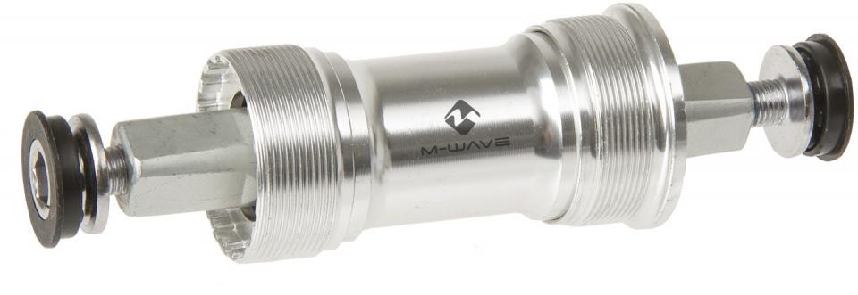 M Wave trapas JIS 119 x 27,5 mm zilver