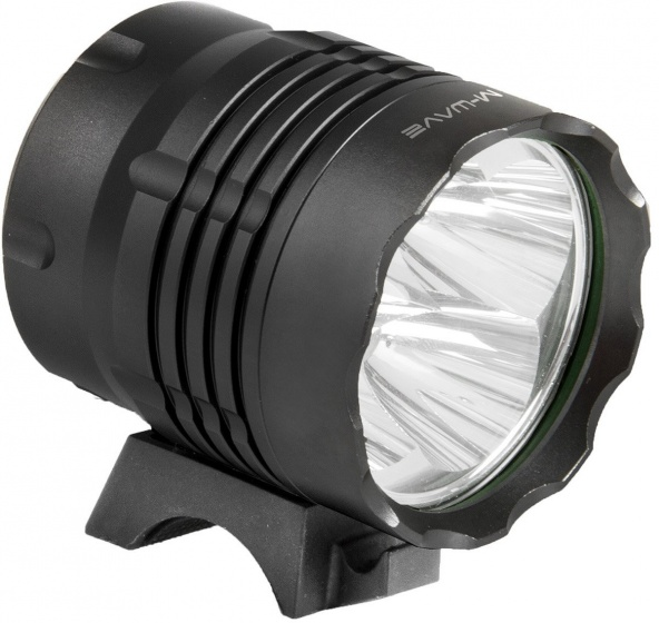 M Wave voorlicht Apollon Ultra 1200 led zwart