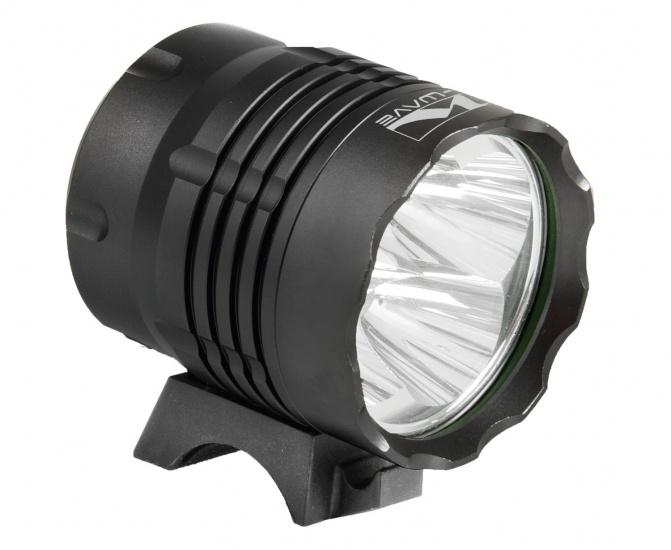 M Wave Voorlicht Apollon Ultra 4500 LED Batterij Zwart