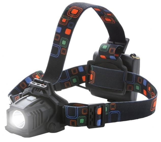 MacGyver hoofdlamp High Power 25 cm 150 lumen zwart