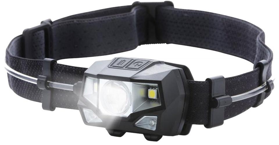 MacGyver hoofdlamp Multicolor 18 cm 150 lumen zwart