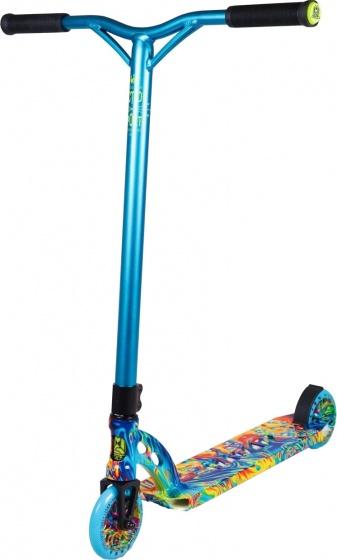 Madd Gear VX7 Extreme Radioactive Junior Voetrem Blauw