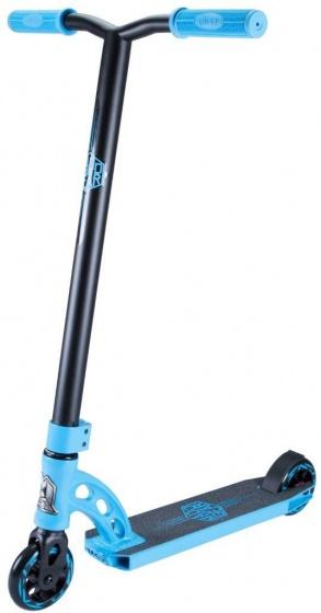 Madd Gear VX7 Mini Pro stuntstep Junior Voetrem Zwart/Blauw
