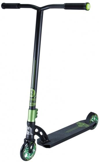 Madd Gear VX7 Nitro Junior Voetrem Zwart/Groen
